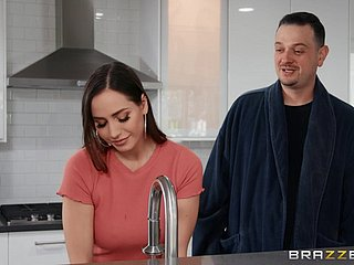 Küche Milf verführt Teen Die große