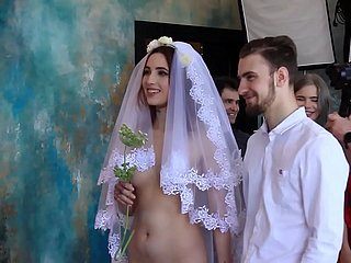 Braut gefickt vor der Hochzeit