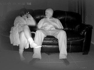 Gefangen masturbieren versteckte Kamera